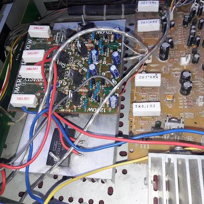 1200W High Power Amplifier