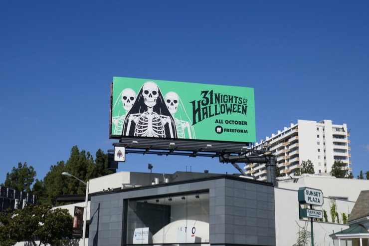 31 Nights of Halloween Freeform billboard