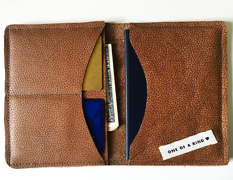 Gift: Leather Passport Wallet