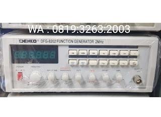 Darmatek Jual DEKKO® DFG-8202 Function Generator 3dB to 2MHz