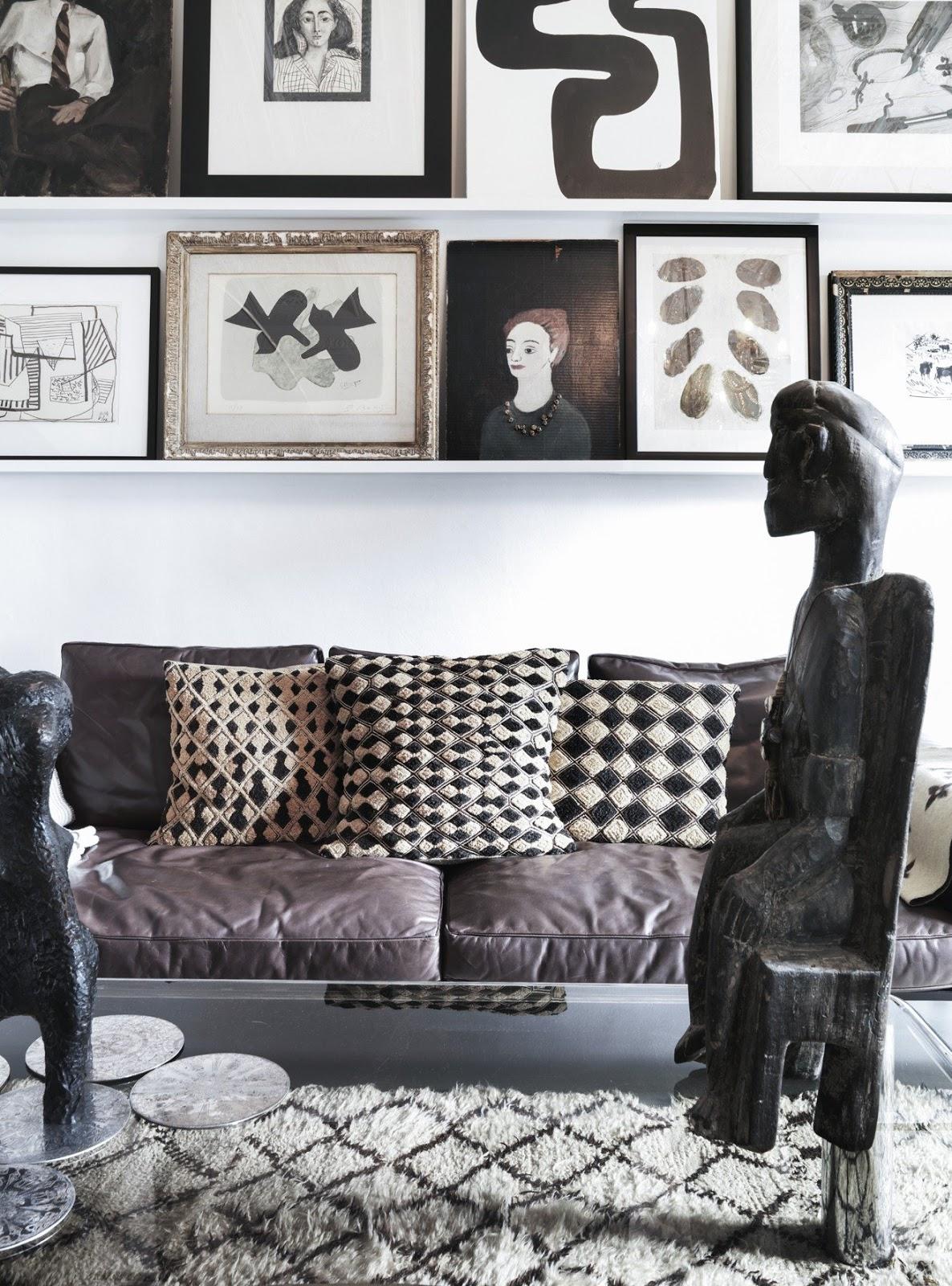 Inspiración decoración. La(s) casa(s) de malene Birger