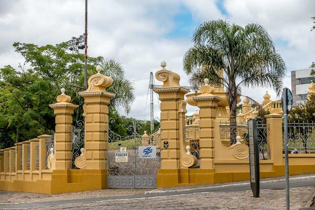 Portão de entrada no Reservatório do Alto São Francisco