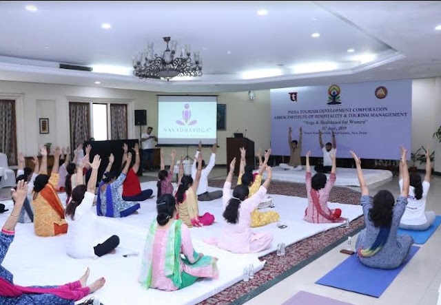 ITDC celebrates International Yoga Day