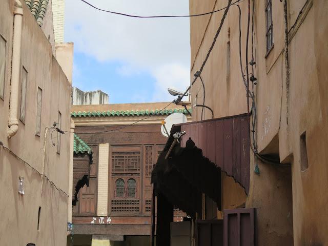 Exterior Medersa Bou Inania Meknes