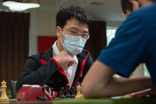 Liem Le, 5ème au classement combiné du Rapid & Blitz de Saint Louis - Photo © Grand Chess Tour