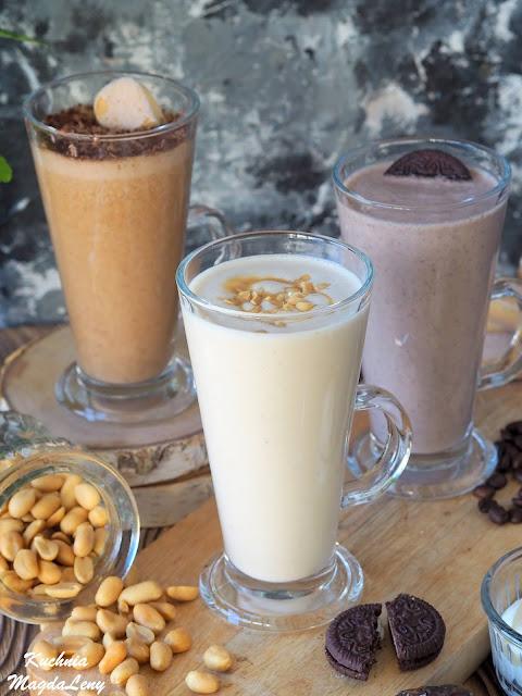 Deserowe koktajle o smaku znanych słodkości