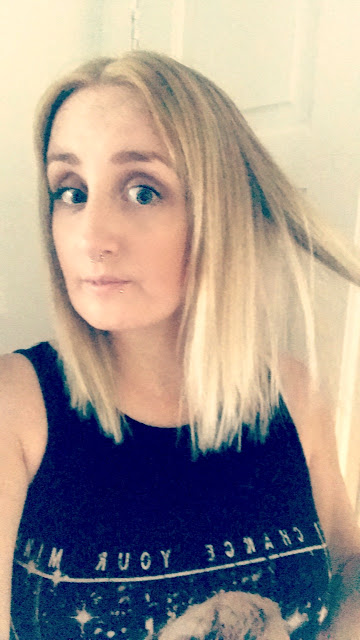 My hairdressing disaster story - after, short blonde bob