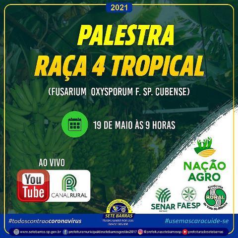 CANAL RURAL REALIZA PALESTRA SOBRE A RAÇA 4 TROPICAL EM SETE BARRAS
