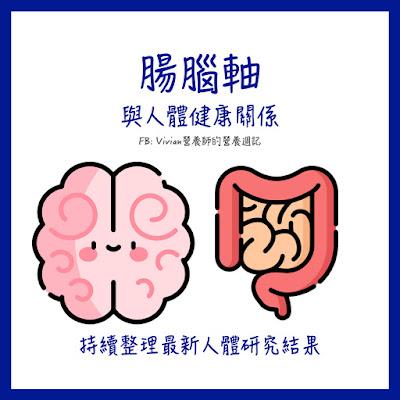 【持續更新中】腸腦軸與人體健康關係