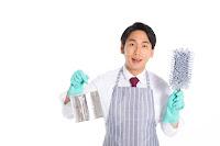 掃除作業員