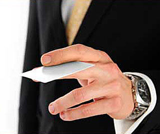 printinginaz creative ways to hand out your business cards