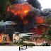 Evacuan personas tras enorme incendio en Heredia,  8 unidades extintoras y más de 40 bomberos trabajan en apagarlo