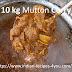 10 किलो मटन करी बनाने की विधि इन हिंदी अजू पी जोर्ज