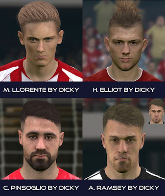 PES 2017 Facepack December 2019 by Dicky