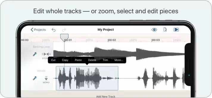 aplikasi editor musik gratis terbaik di iPhone dan iPad-3