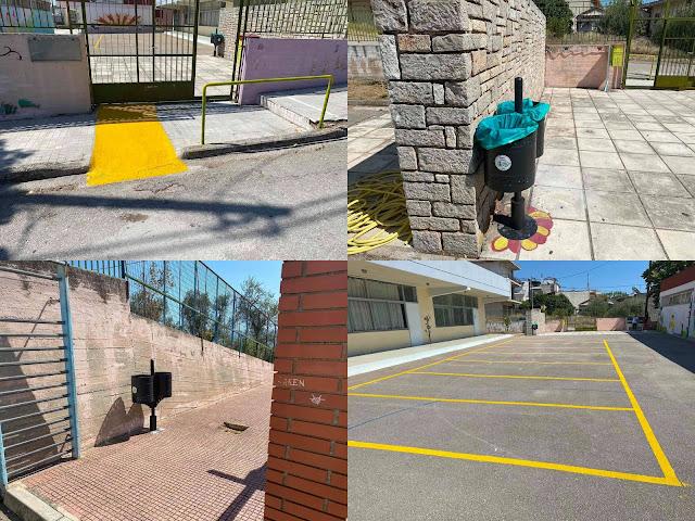 Με το ξεκίνημα της νέας σχολικής χρονιάς ο Δήμος Στυλίδας εντατικοποίησε τις εργασίες του στα περισσότερα σχολεία του Δήμου μας.