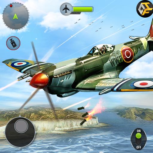 تحميل لعبه Airplane Fighting WW2 Survival Air Shooting Games مهكره اخر اصدار