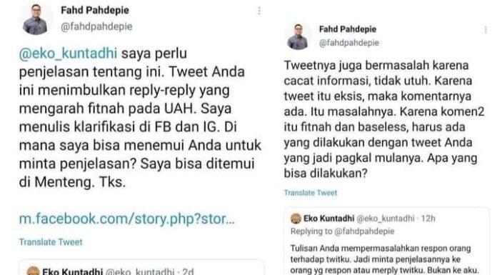 Diajak Ketemuan Klarifikasi Soal Fitnah UAH, BuzzerRp Eko Kuntadhi Ngacir