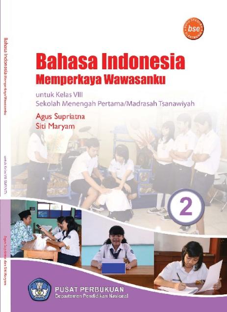 Download Buku Siswa KTSP SMP dan MTs Kelas 8 Bahasa Indonesia Memperkaya Wawasanku