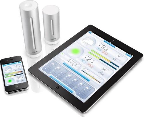 Netatmo slim weerstation met app