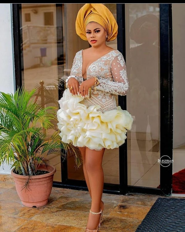Latest Asoebi Styles 2021: Beautiful Styles For Ladies