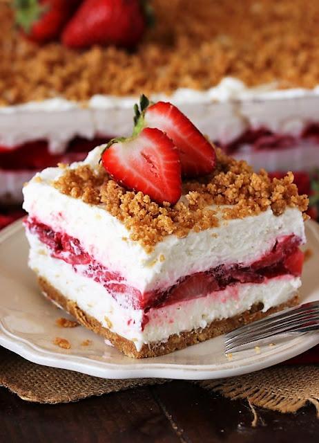 Fresh Strawberry Yum Yum Image