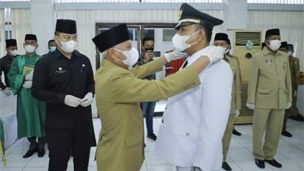 Bupati Asahan Lantik Pejabat Fungsional Ahli Utama dan Pejabat Administrator