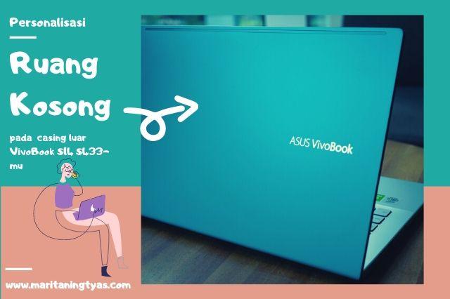 negative space pada ASUS Vivobook terbaru