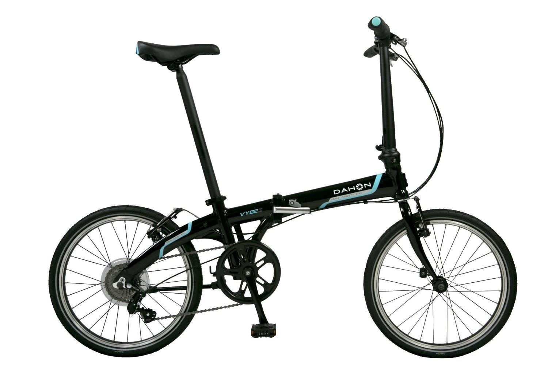 Exercise Bike Zone: Dahon Vybe D7 Folding Bike Obsidian
