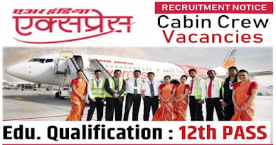 Air India Express CABIN CREW Vacancy 2019