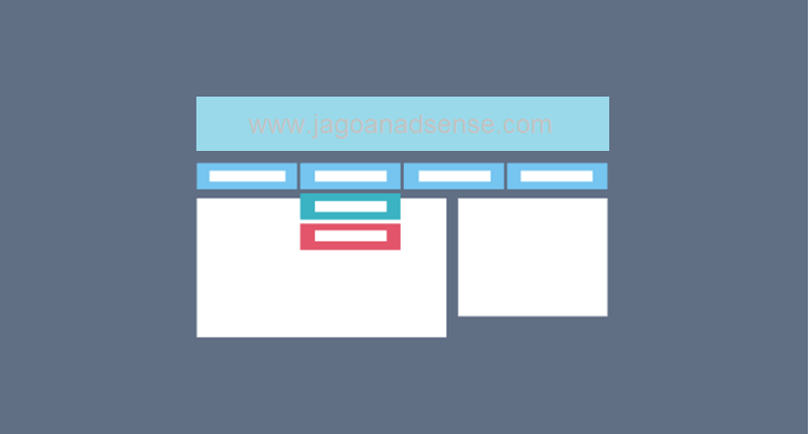 Cara Mengatur Menu Blog di Blogspot