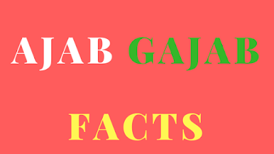 [Ajab Gajab, Facts] अजब गजब रोचक तथ्य जो आपको हैरान कर देंगे – Amazing Facts in Hindi