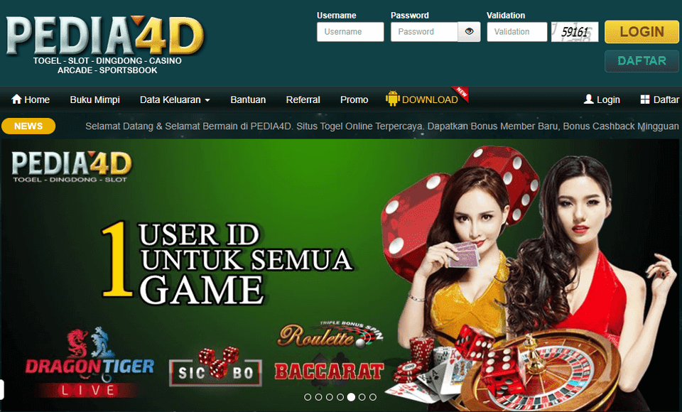 Situs Pedia4D Terpercaya
