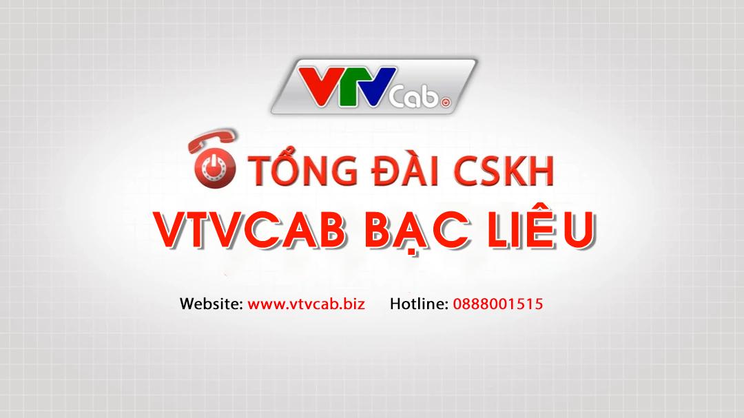 Tổng đài VTVcab Bạc Liêu