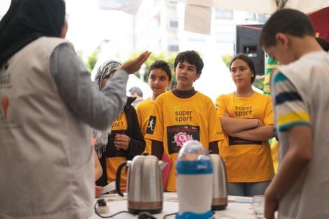 مهرجان المعاريف يقدم العلوم للطلبة بمنظور مغاير