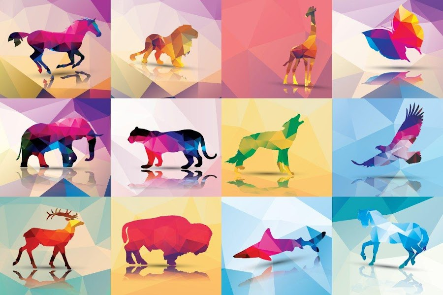 Bocetos de un diseño gráfico