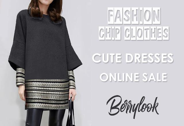 Интернет-магазине Berrylook - недорогие женские платья