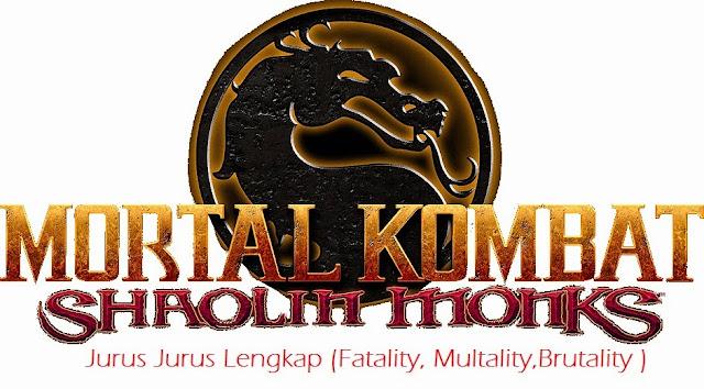 Kumpulan Fatality, Brutality dan Fatality Mortal Kombat PS2 Terlengkap