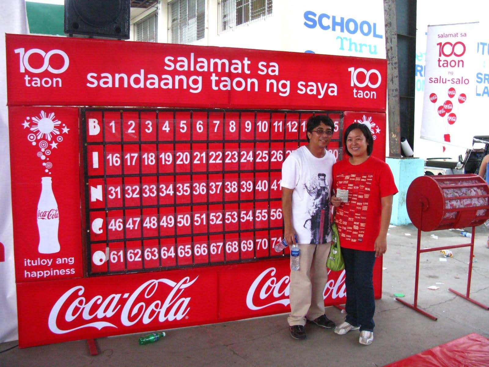 Colabingo: The Blog Of 1000+ What-not's: Coca-cola Baranggay Bingo