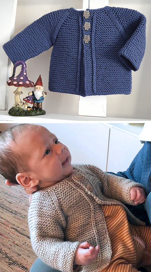 Balina Top Down Cardigan - Knitting Pattern