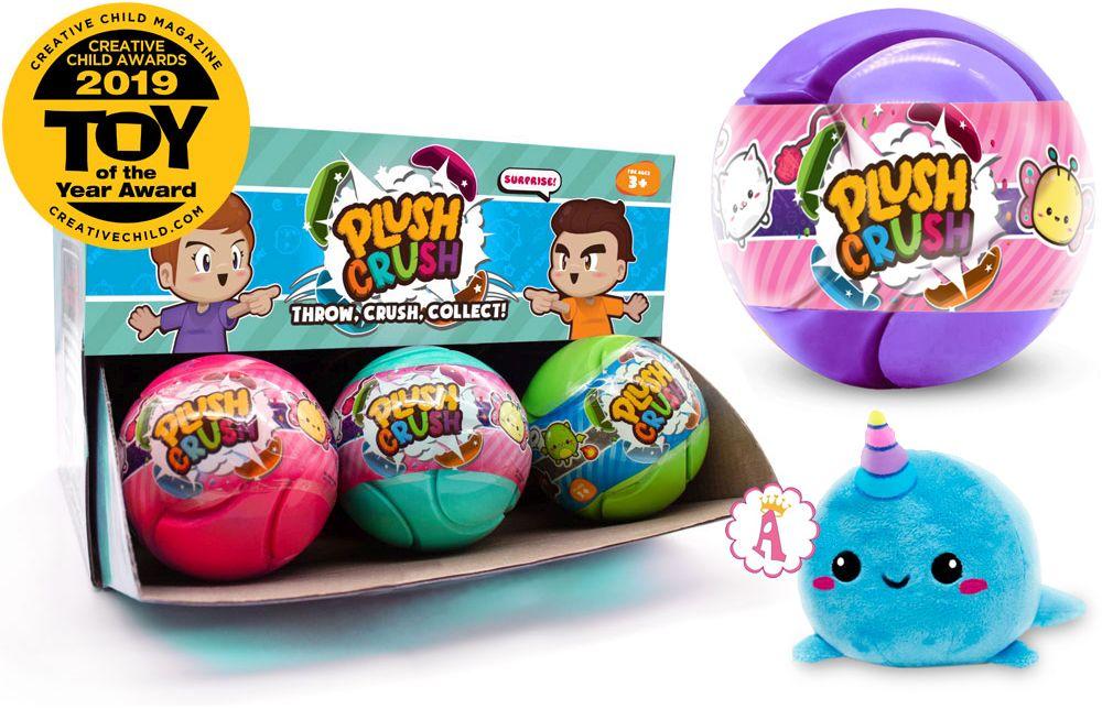 Пазл мяч с игрушкой Plush Crush toy of the year 2019
