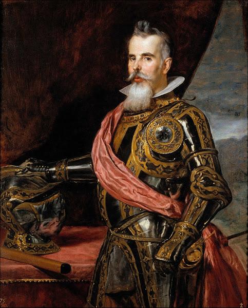 Диего Веласкес - Портрет Хуана Франсиско де Пиментеля, графа Бенавента (1648)