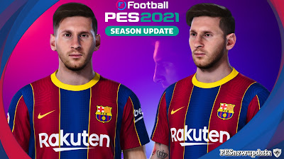 PES 2021 Faces Lionel Messi by Messi Pradeep