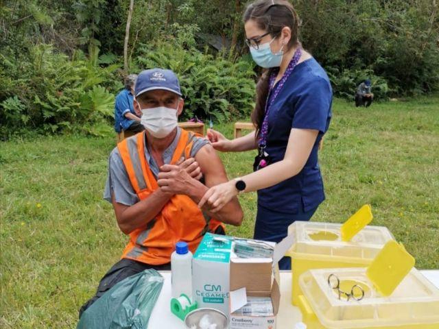 Vacunación Puyehue