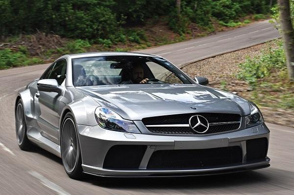 Ficha Técnica Mercedes SL 65 AMG Black Series (2008)