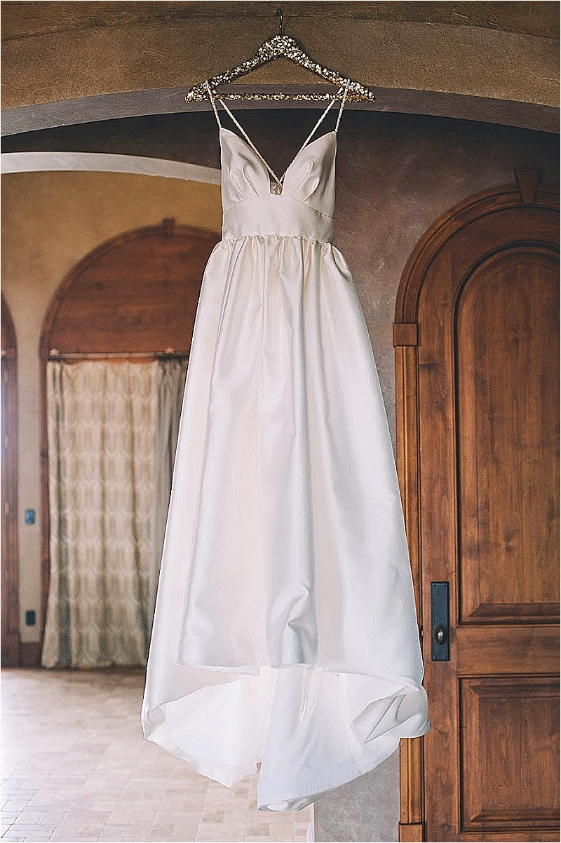 every wedding dress needs a sequin hanger {meet the design