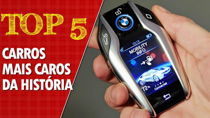 Top 5 carros mais caros do mundo