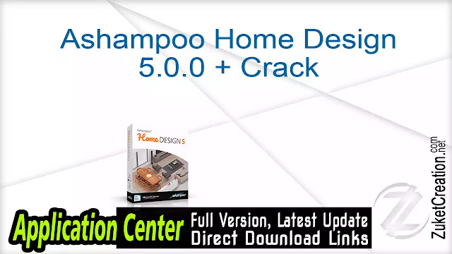 Ashampoo Home Design 5.0.0 + Crack