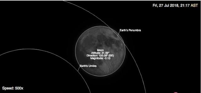 Saudi Arabia to Witness 21st Century's Longest Total Lunar Eclipse on Friday