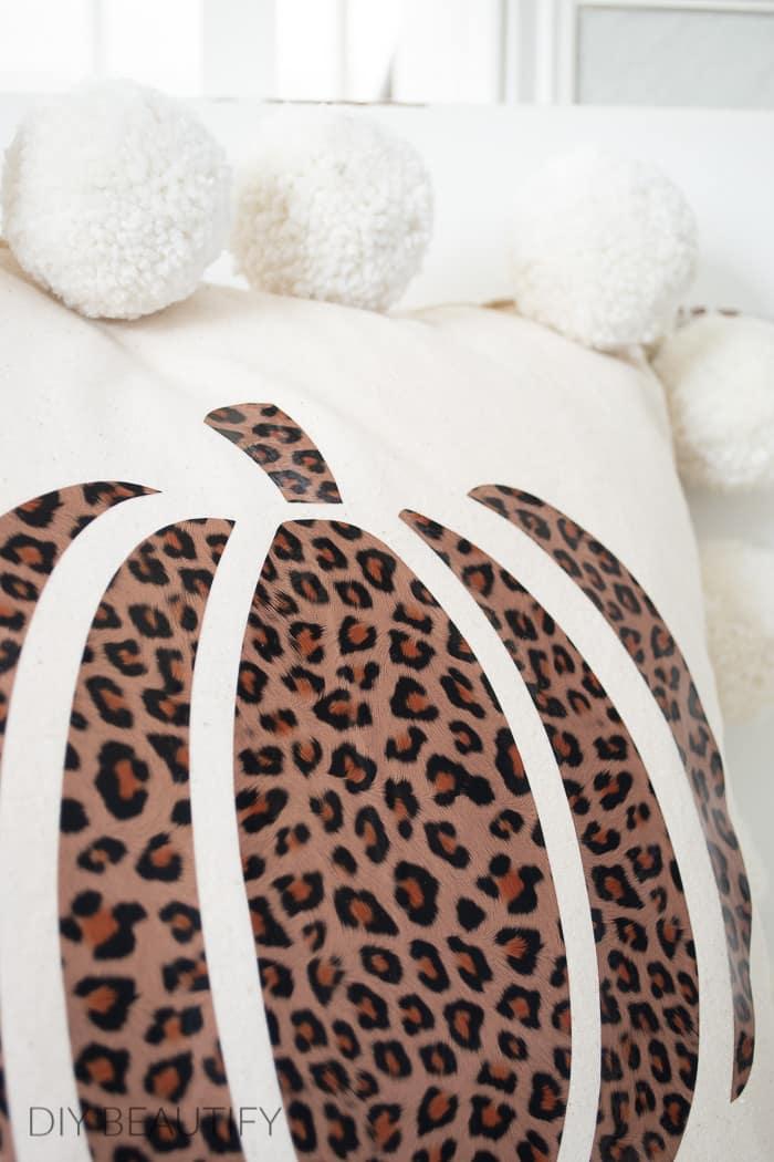 cheetah print pumpkin